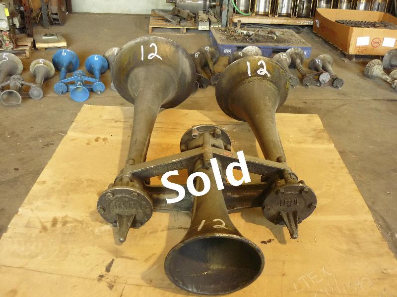 Sand Rail Horns : Locomotive chime air horns for sale