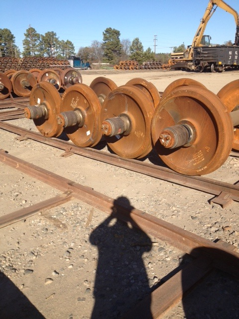 F Bearing Switcher Locomotive Wheel Sets For Sale